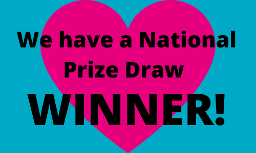 Congratulations to the Winner of the New Year National Prize Draw 2020!